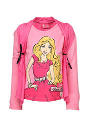 barbie girls pink top